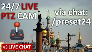 LIVE CAMERA Nevskiy avenue St. Petersburg Russia Live Chat. Невский пр. Санкт-Петербург и живой чат