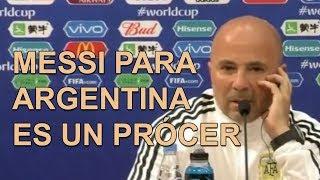 Declaraciones de Sampaoli previo al duelo de 🇦🇷 Argentina vs 🇭🇷 Croacia