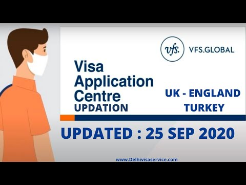VFS Global India Latest Updates For 25-Sep-2020 PART -- 1 | News On VFS Opening For Visa Application
