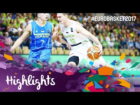 Slovenia v Ukraine - Highlights - Round of 16 - FIBA EuroBasket 2017 from YouTube · Duration:  1 minutes 40 seconds