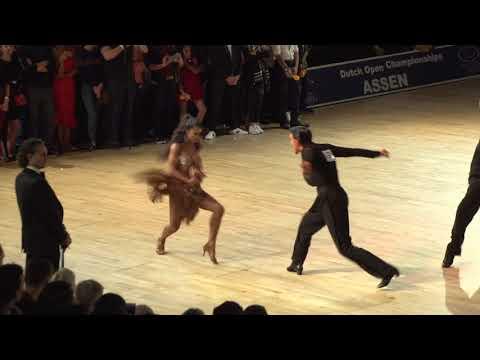Morten Löwe & Roselina Doneva Denmark Paso Dutch Open Professional Latin Championship
