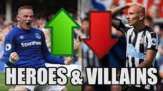 Premier League Heroes And Villains (Matchweek 1)