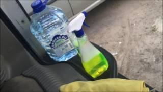 Химчистка потолка автомобиля Chevrolet Tahoe Бегемот (дешево и качественно)