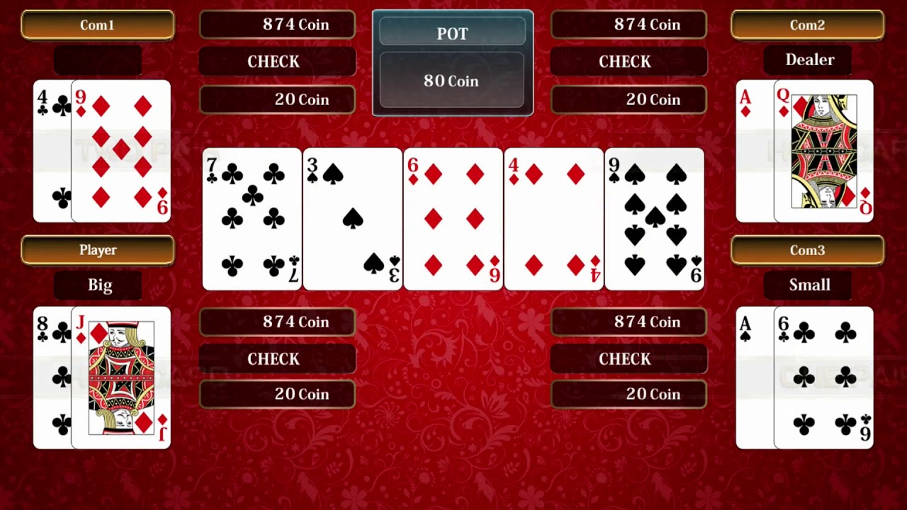 No limit holdem player