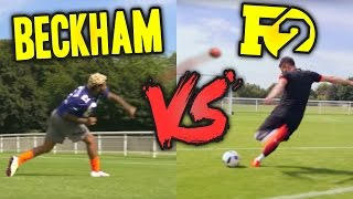 ODELL BECKHAM VS F2  EPIC BATTLE - Football VS Football