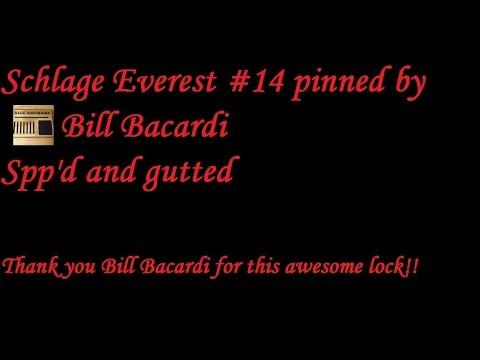 Взлом отмычками Schlage     (380) Schlage Everest #14 (pinned by Bill Bacardi) Spp