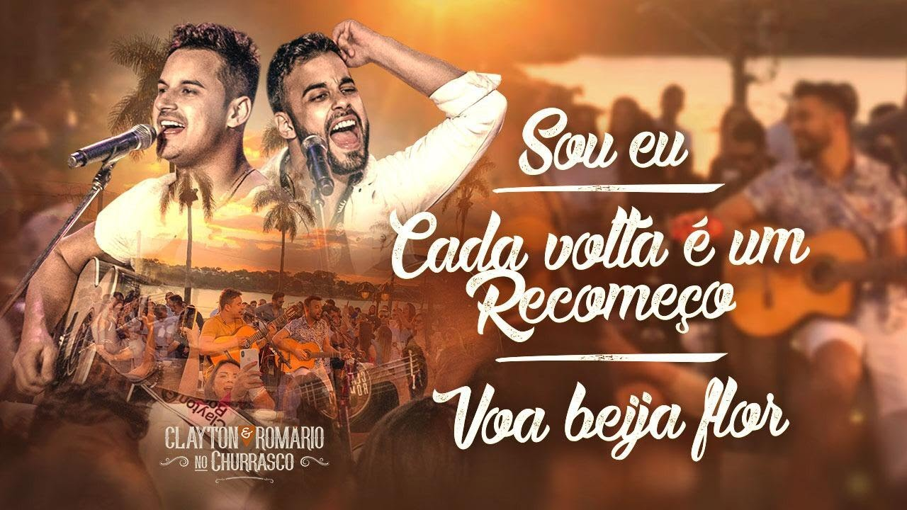 Download Clayton e Romário - Sou eu / Cada Volta É Um Recomeço / Voa Beija Flor - DVD  no Churrasco