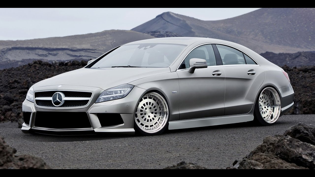 virtual tuning mercedes benz cls 350 amg 179 youtube