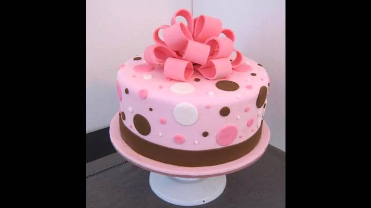 Beautiful Simple cake decorating ideas - YouTube