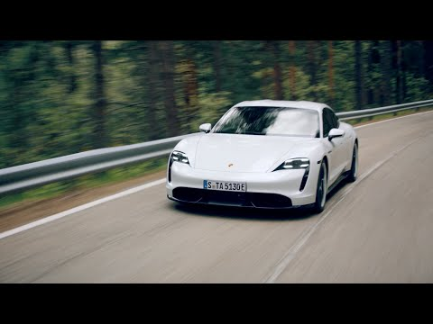 The new Porsche Taycan - Performance Highlights