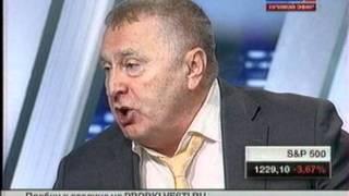 Жириновский ставит на место ведущую РОССИИ 24