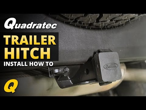 How to Install a Trailer Hitch on Your Jeep Wrangler JK