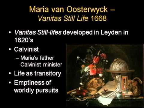 ARTH 4117 Northern Baroque 2: Maria van Oosterwijk (Dutch)