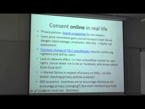 "Prof. Lilian Edwards - ""The death of data protection"""