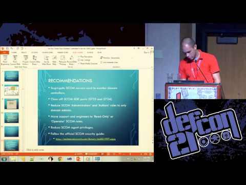 Defcon 21 - So You think Your Domain Controller is Secure?