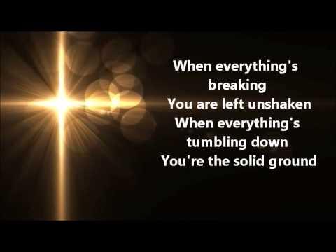 We Shall Not Be Shaken-Matt Redman Lyrics