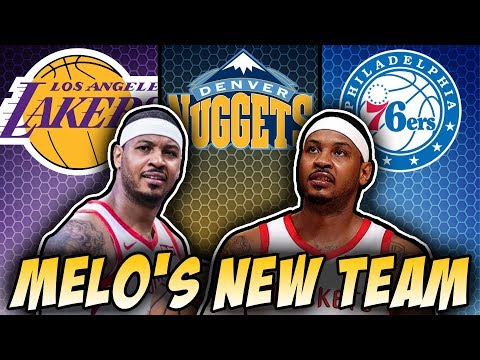 NBA Trying To Kick Carmelo Anthony Out Of The League?