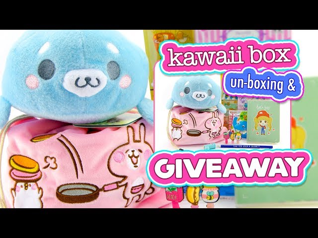Kawaii Box - Unboxing 2017 - Cute Stationary & Plushies!