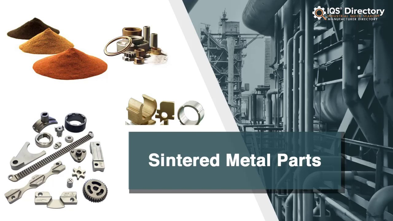 Sintered Metal Part Manufacturers Suppliers