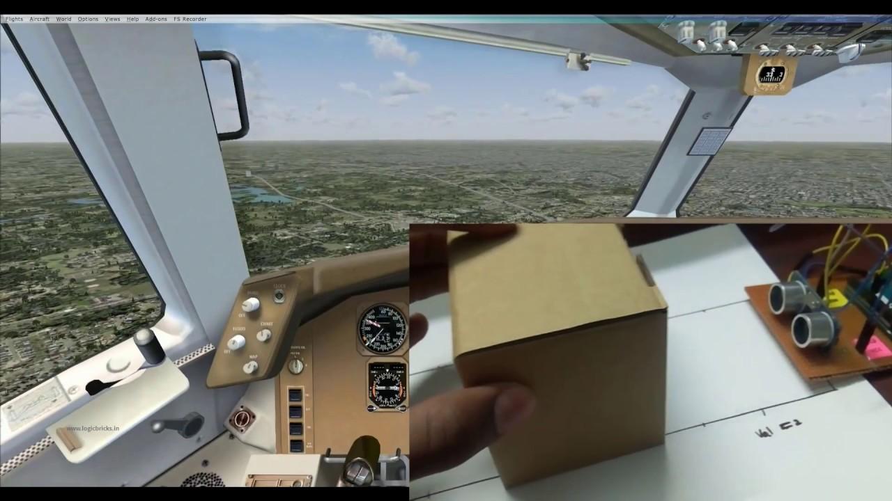 Make your own throttle for flight simulator diy using