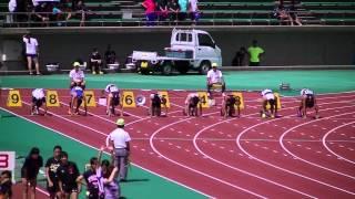 第59回北陸陸上競技選手権大会男子100m決勝
