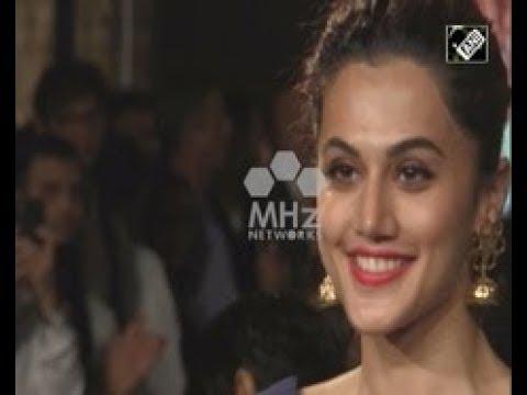 India News (20 Apr, 2018) - Women achievers walk the ramp at India's Mumbai fashion show