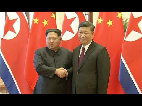 Xi Jinping Holds Welcoming Ceremony for Kim Jong Un