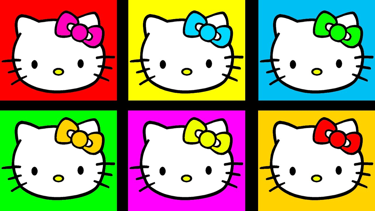 hello kitty coloring for kids coloring hello kitty baby coloring youtube. Black Bedroom Furniture Sets. Home Design Ideas