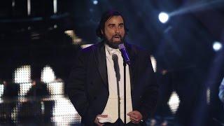 Luka Bulić kao Luciano Pavarotti - Nessun dorma | Tvoje lice zvuči poznato Hrvatska