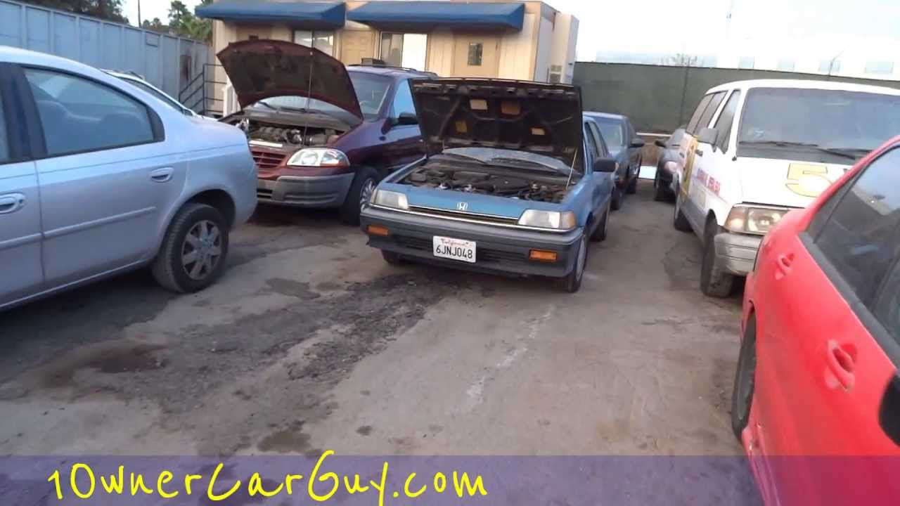 Make Money Parting Out Cars