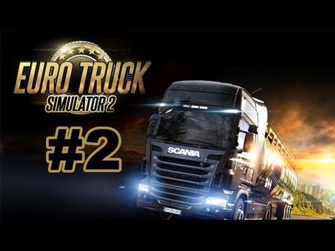 Euro Truck Simulator 2 Walkthrough - Part 2 To Paris [Let's Play]