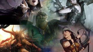 Dragonlord Silumgar VS Exava, Jeleva, Gisa, & Lin Sivvi