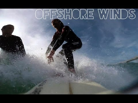 Surfing OffShore Days in HB 2-4 Ft | GoPro