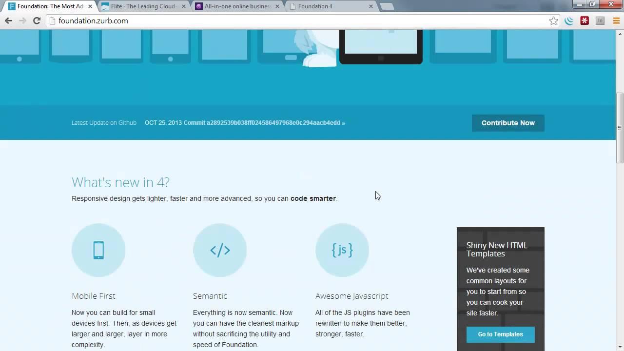 Using Zurb Foundation - Responsive Web Design - YouTube