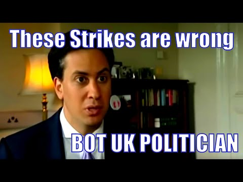These Strikes are Wrong - Ed Miliband