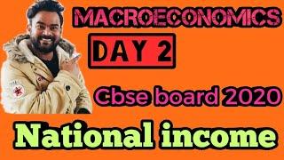 National income   Day 2   Economics mantra   Complete National income   Commerce guruji   Cbse 2020