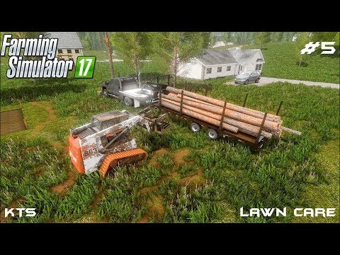 Tree removal | Lawn Care | Farming Simulator 2017 | Episode 5 thumbnail