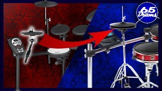 Hihat On A Drumrack VS Hihat On A Stand (Is It Worth The Extra Cash?)