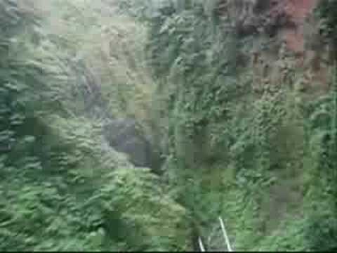 Bioko Island and Malabo  Equatorial Guinea over flight