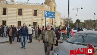 تشييع جثمان عبد العزيز مكيوي لمثواه الأخير في مقابر السيدة عائشة