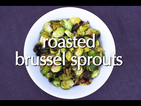 Dinner Party Tonight Shorts: Roasted Brussel Sprouts