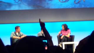 panel lana parrilla -jared gilmore -sean maguire fairytale convention II sunday part 1