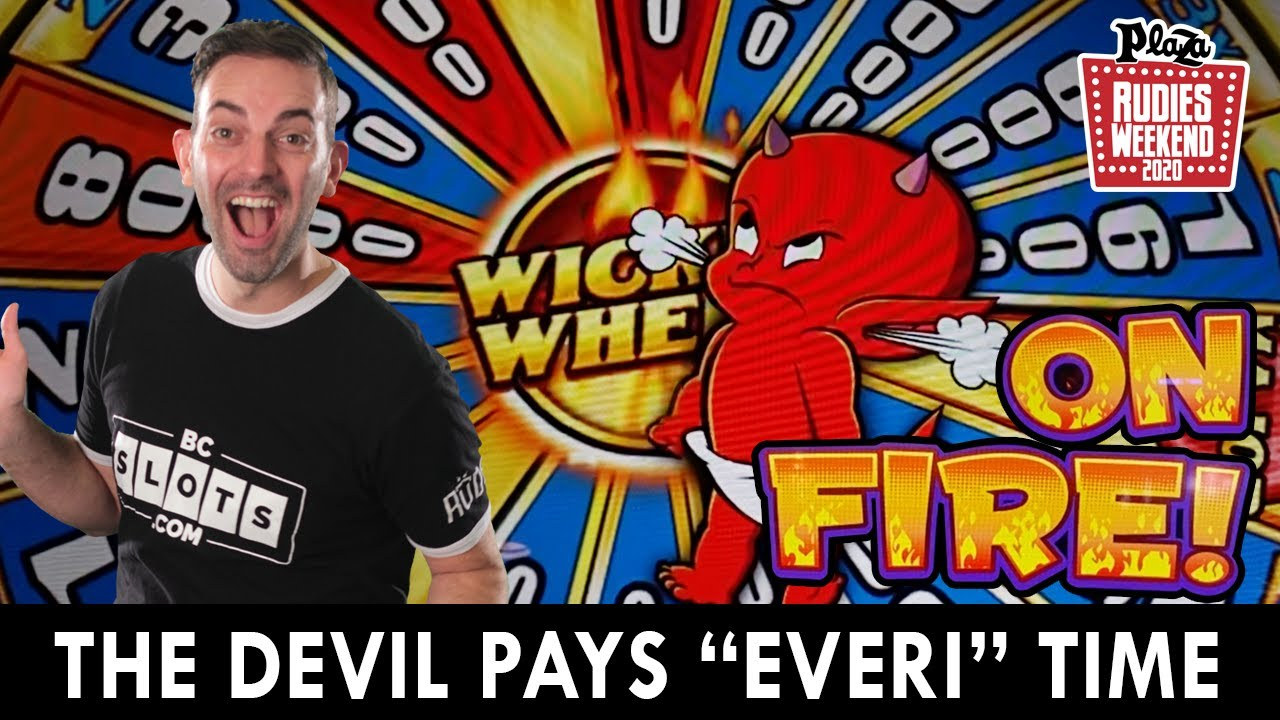 The Devil pays EVERI TIME 😈 Playing the 'Scariest' Slots at Plaza Casino #ad