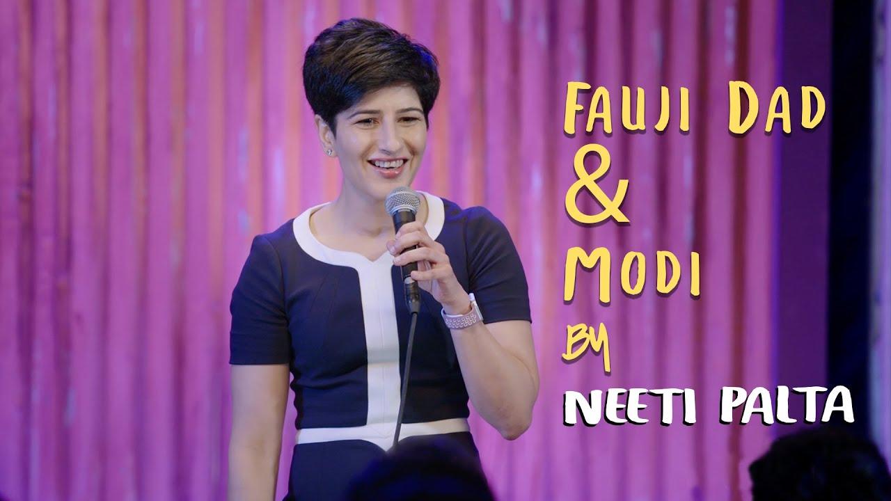 Download Fauji Dad & Modi | Neeti Palta - Almost Sanskari | Stand Up Comedy | Amazon Prime Special