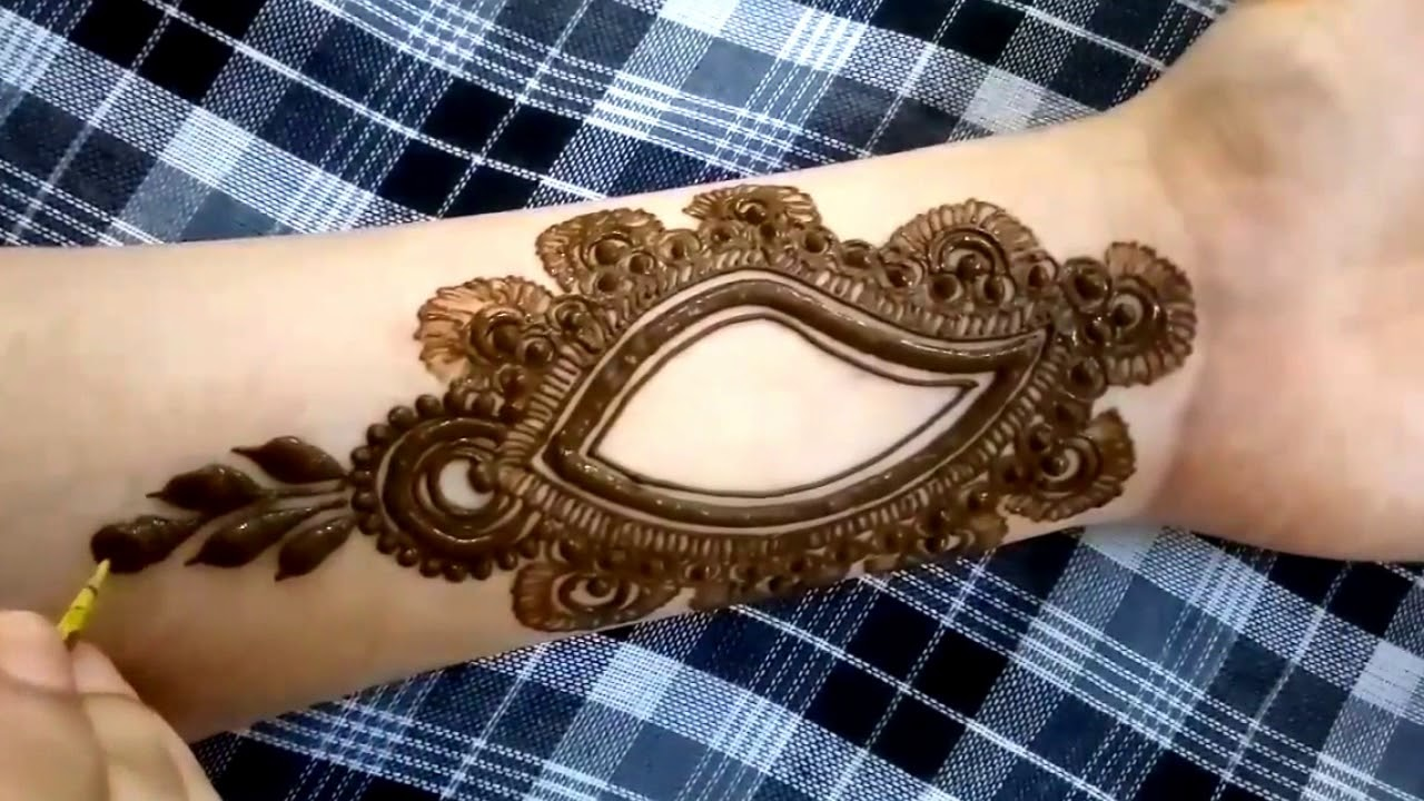 New Simple Easy Mehndi Designs 2017 2018 Youtube
