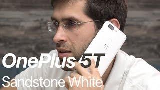 OnePlus 5T Sandstone White: hands-on!