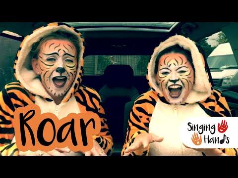 Makaton Carpool Karaoke - ROAR - Singing Hands