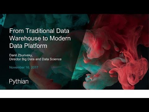 From Traditional Data Warehouse to Modern Data Platform | Webinars at  Pythian®
