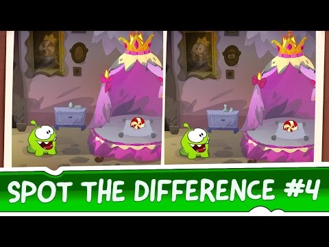 Spot the Difference Ep. 4 - Om Nom Stories: Tangled Story