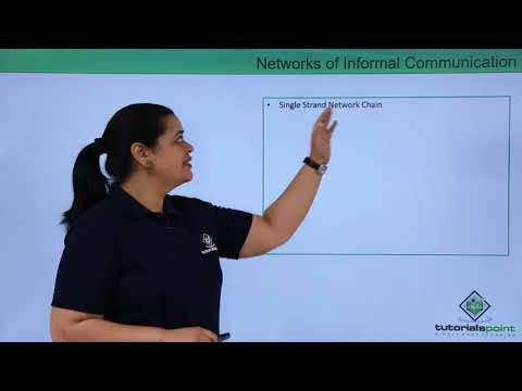 Networks Of Informal Communication